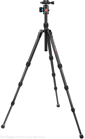 Oben CT-3451 Carbon Fiber Travel Tripod with BE-113T Ball Head - $  199.95 with Free Shipping (Reg. $  299.95)