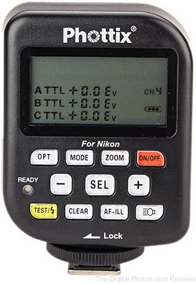 Phottix Odin TCU TTL Flash Trigger Transmitter for Nikon - $  89.99 Shipped (Reg. $  199.99)
