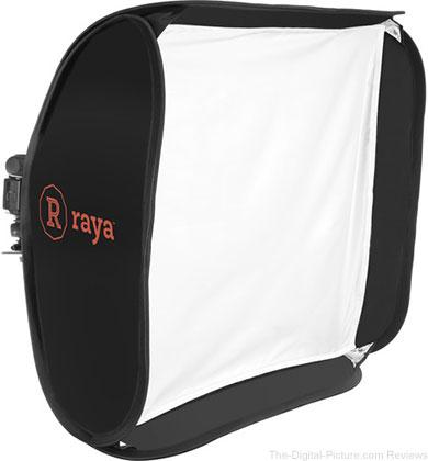 "Raya EFS-24 Easy Fold Softbox Set (24 x 24"") - $  49.95 Shipped (Reg. $  74.95)"