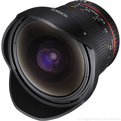 Today Only: B&H has the Rokinon 12mm f/2.8 Fisheye Lens for only $  369.00 (Orig $  499.00)