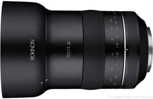 Rokinon SP 50mm f/1.2 Lens