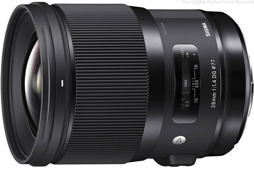 SIGMA 28mm F1.4 DG HSM Lens