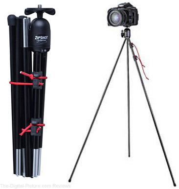 Tamrac 28-Inch ZipShot Mini Compact Camera Tripod - $  14.95 Shipped (Compare at $  24.95)