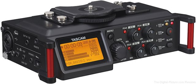 Tascam DR-70D 4-Channel Audio Recorder - $  169.99 Shipped AR (Compare at $  217.90)