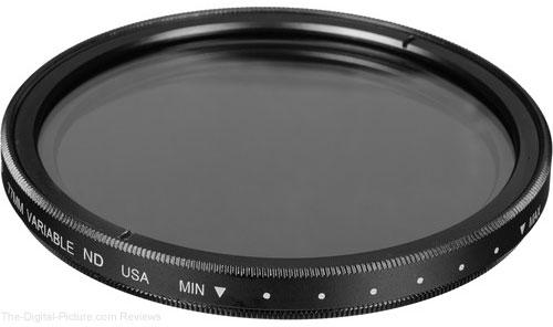 Tiffen 77mm Variable Neutral Density Filter - $  79.95 Shipped (Reg. $  149.95)
