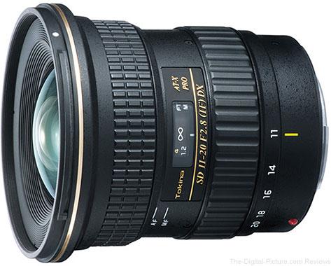Tokina AT-X 11-20mm f/2.8 PRO DX Lens - $  479.00 Shipped (Reg. $  599.00)
