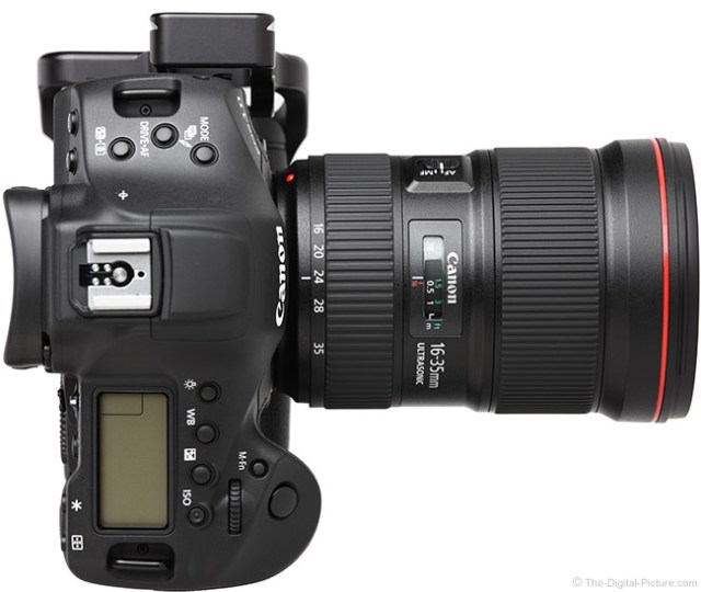 Standard Test Results for the Canon EF 16-35mm f/2.8L III USM Lens