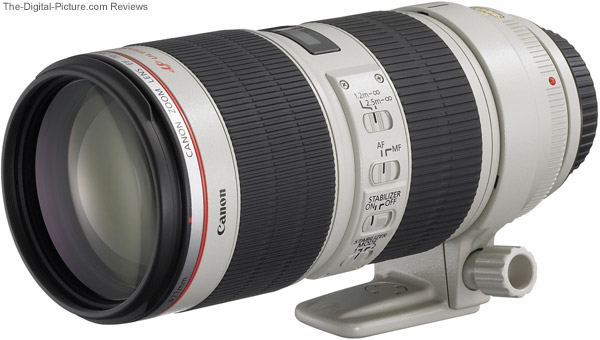 Canon 70-200mm F2.8 IS II USM