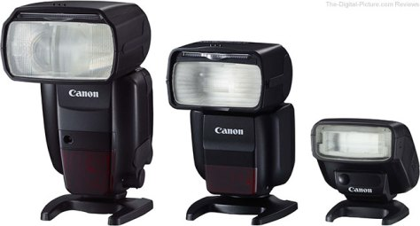 Canon Speedlite Flashes