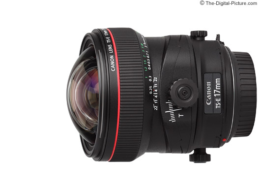 Canon TS-E 17mm f/4 L Tilt-Shift Lens Comparison