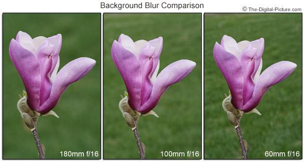 Comparación tomada del sitio The Digital Picture