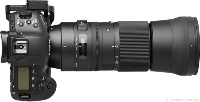 Sigma 150-600mm F5-6.3 DG OS HSM Contemporary Lens