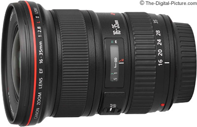 Canon EF 16-35mm f/2.8L II USM Lens Tested on the EOS 5Ds R and 7D Mark II