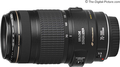 Canon EF 70-300mm f/4-5.6 IS USM Lens Tested on the EOS 5Ds R and 7D Mark II