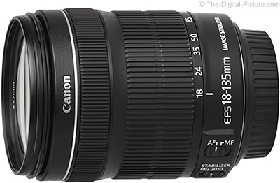 Canon EF-S 18-135mm f/3.5-5.6 IS STM - $  229.00 Shipped (Compare at $  549.00)