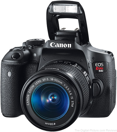 Just Posted: Canon EOS Rebel T6i and T6s Reviews (and Deals)
