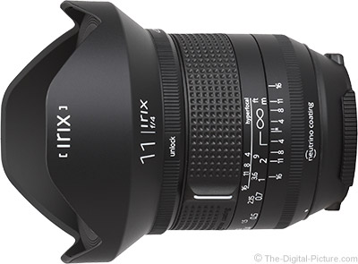 First Looks at Irix 11mm f/4 Firefly/Blackstone Lens Image Quality