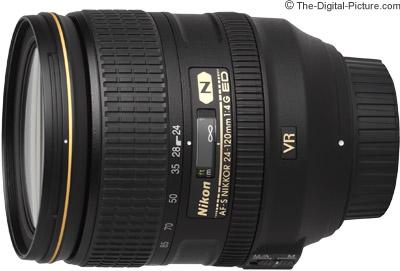 Refurb. Nikon AF-S NIKKOR 24-120mm f/4G ED VR Lens - $  534.95 Shipped (Compare at $  1,096.95 New)
