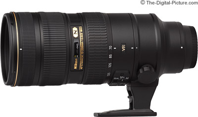 Nikon 70-200mm f/2.8G AF-S VR II