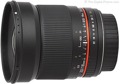 Just Posted: Samyang 16mm f/2 ED AS UMC CS Lens Review
