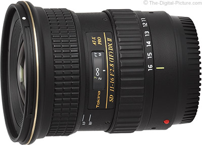 Tokina 11-16mm f/2.8 ATX Pro DX II Lens - $  329.99 Shipped (Compare at $  449.00)
