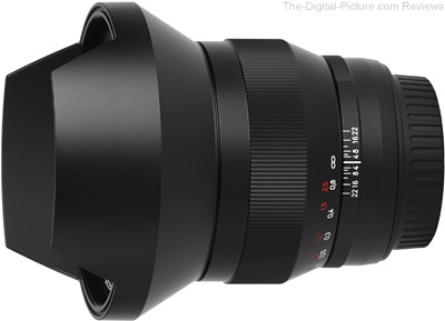 Zeiss 15mm f/2.8 ZE Distagon Lens