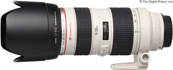 Canon EF 70-200mm f/2.8L USM Lens Product Images