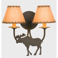 Moose Double Wall Lamp
