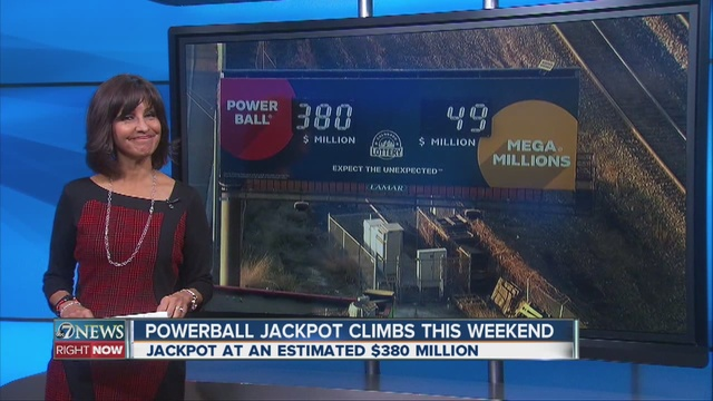 Powerball Jackpot Climbs To $450 Million For Wednesday's