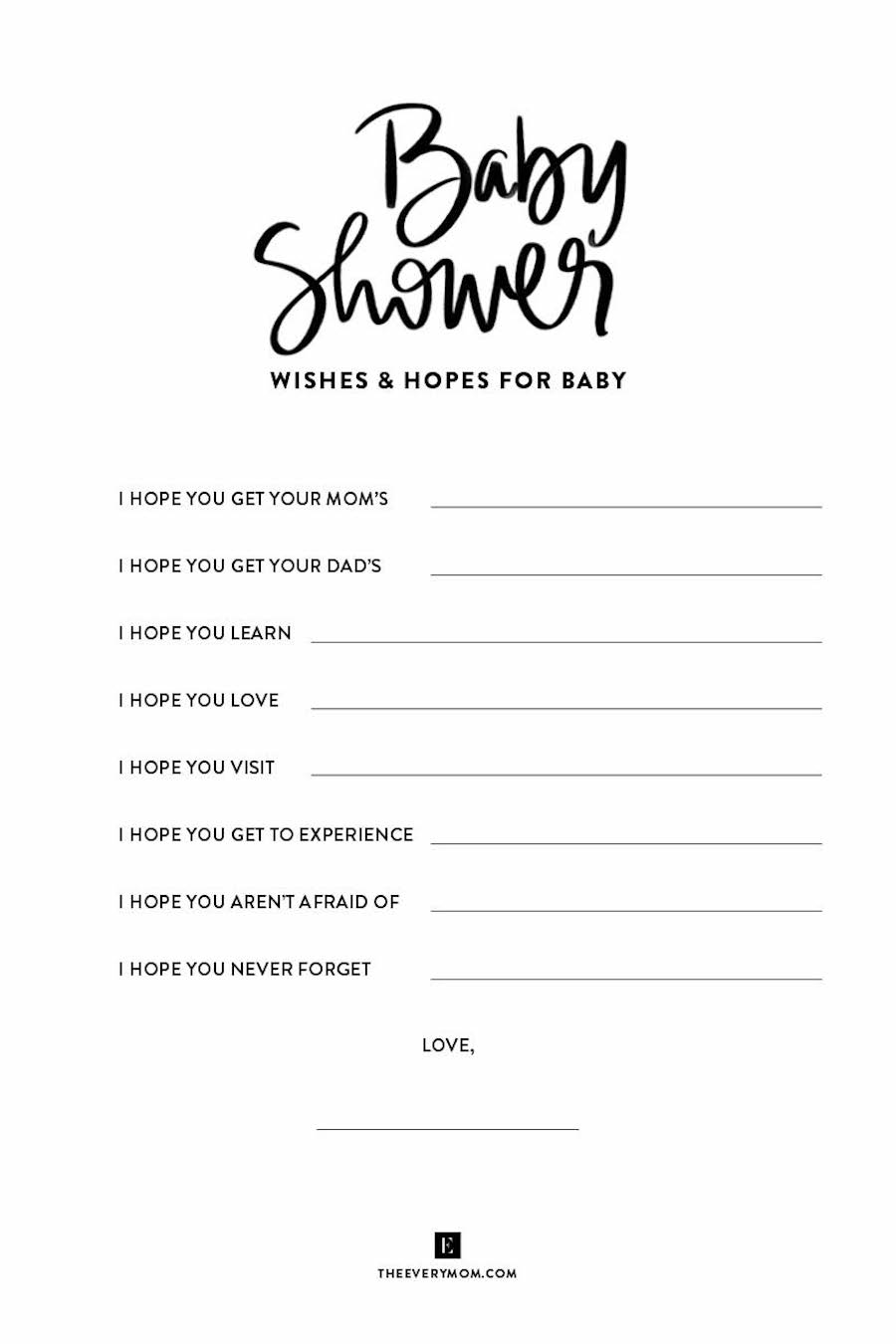 Country Songs With The Word Baby In The Title : country, songs, title, Shower, Games, Printable, Ideas, Actually