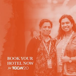 TGCW20 News: Hotels, Flight Discounts, and Inviting Friends