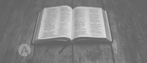 Hold the Bible on the Middle of Your Church