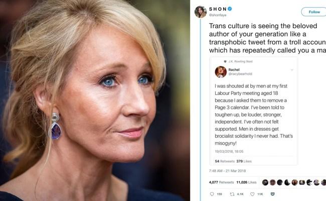 Is J K Rowling Transphobic Them
