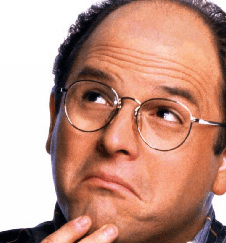 fundraisers heed george costanza