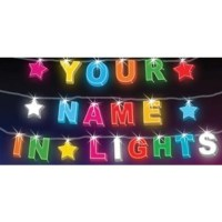 String Lights - 16 LED, Your Name in Lights | String Fairy ...