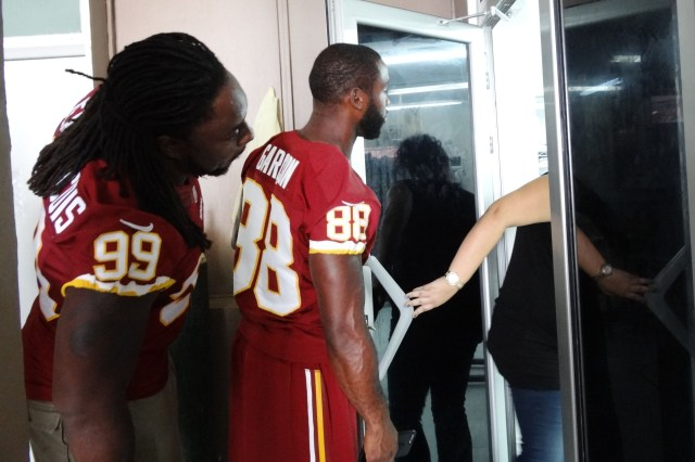 PHOTOS COURTESY OF THE WASHINGTON REDSKINS