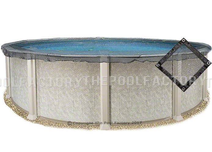 Keep your pool in the best shape during the off seasons with this swimline 24 foot round above ground pool winter cover. 27 Round Pool Leaf Net Cover The Pool Factory