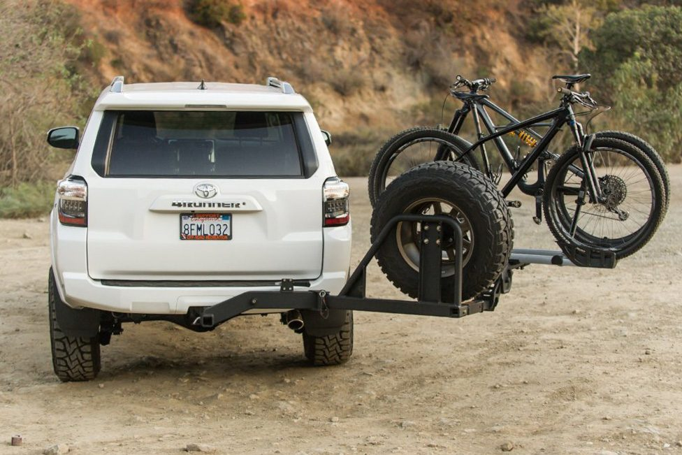 the ultraswing is a spare tire carrier