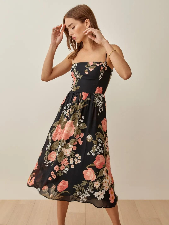 Vivette Rosehip Dress