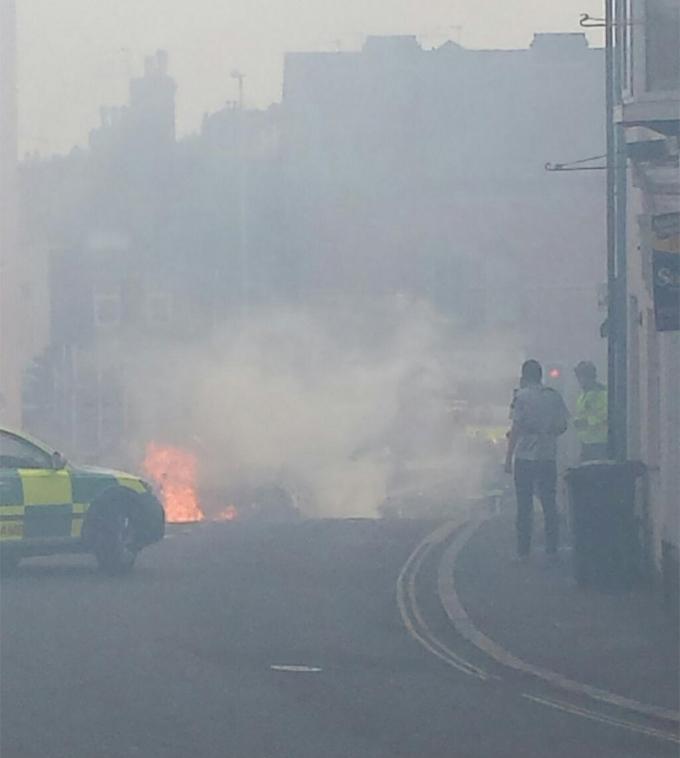 Irvine Car Wash Fire