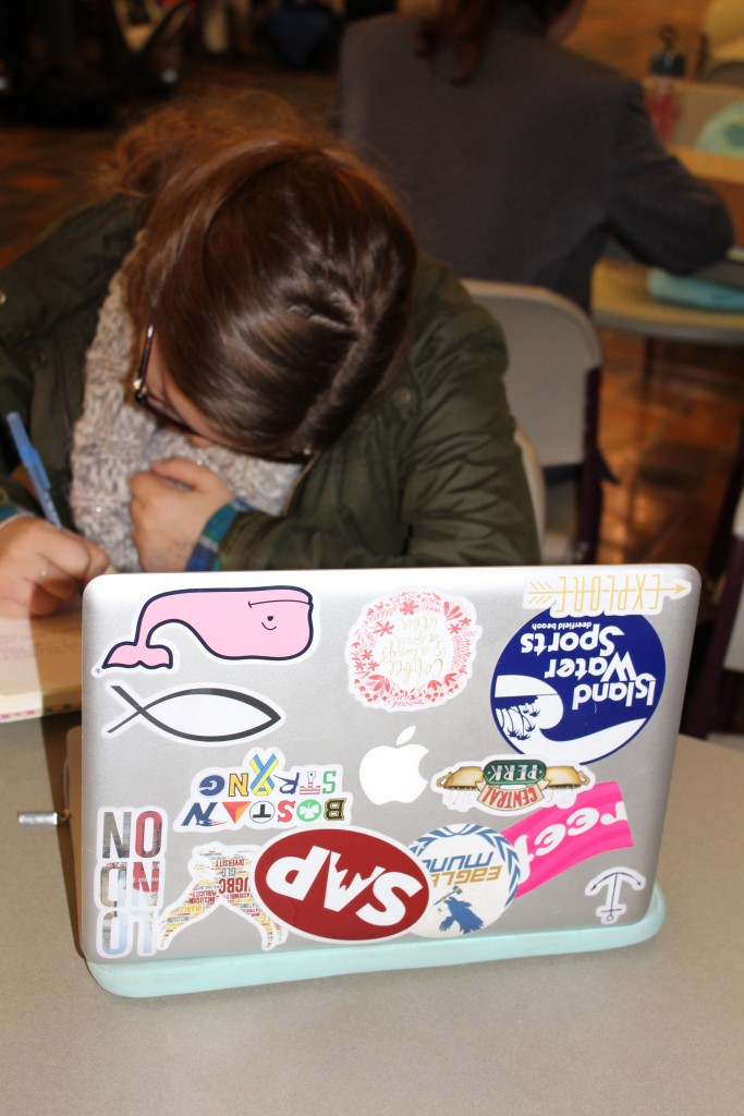 laptop stickers the commitment