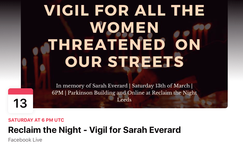 https thetab com uk leeds 2021 03 11 a vigil in memory of sarah everard will be held on parkinson steps this saturday 54121