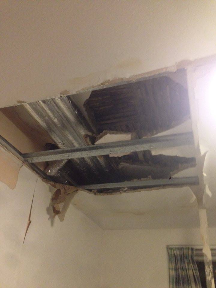 Ceiling Collapse Water Leak Wwwenergywardennet