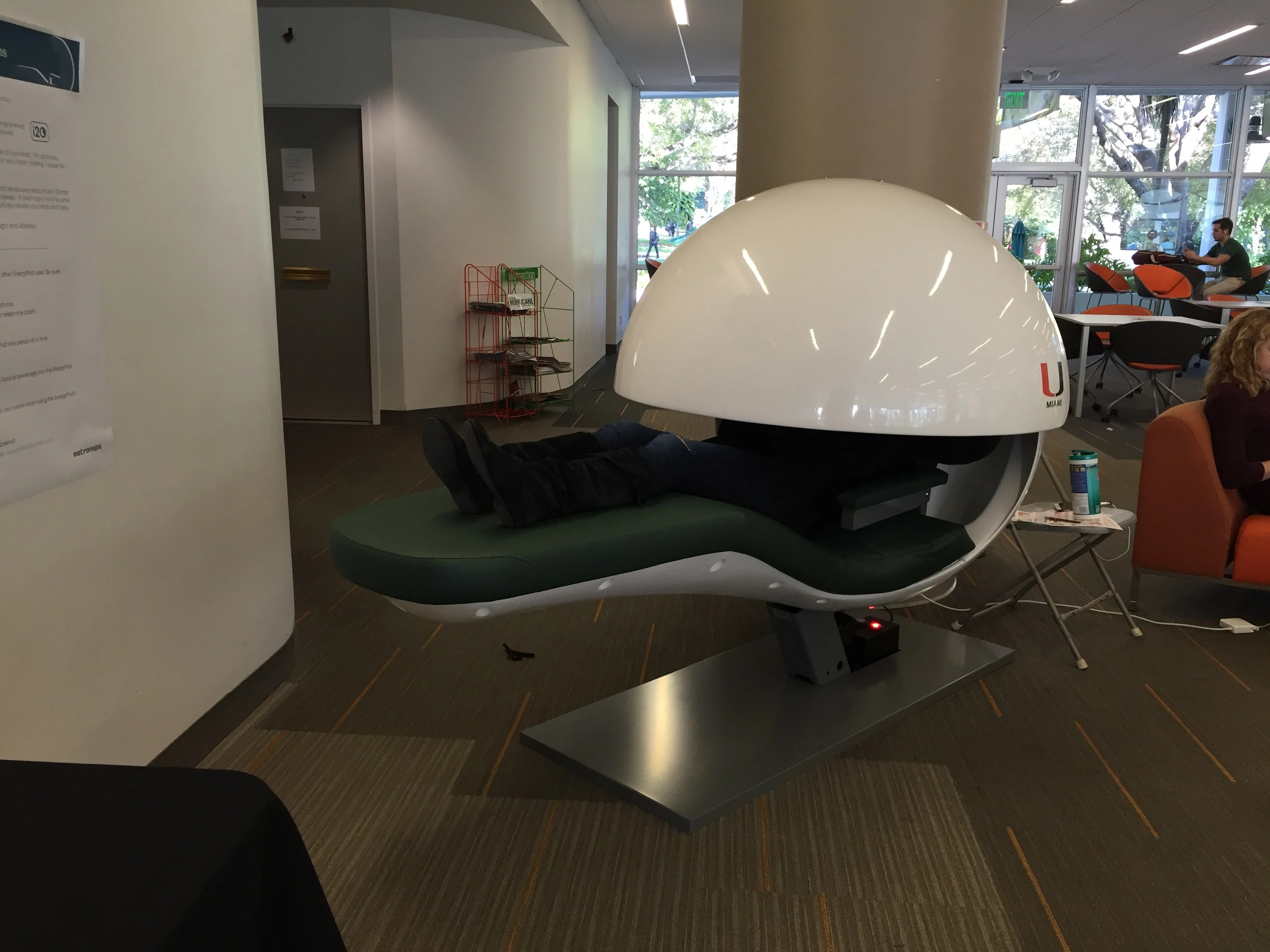 energy pod chair rentals in delaware these napping pods are a waste of our tuition img 8597