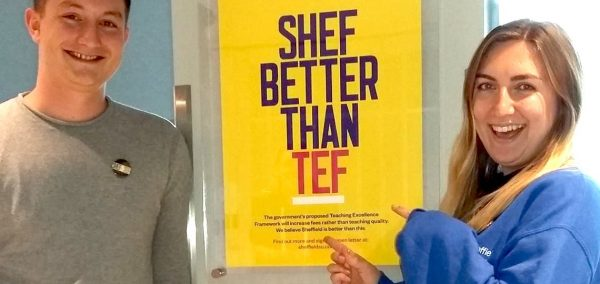 Sheffield Education Officer 'thrilled' at vote to end TEF's tuition fee tie