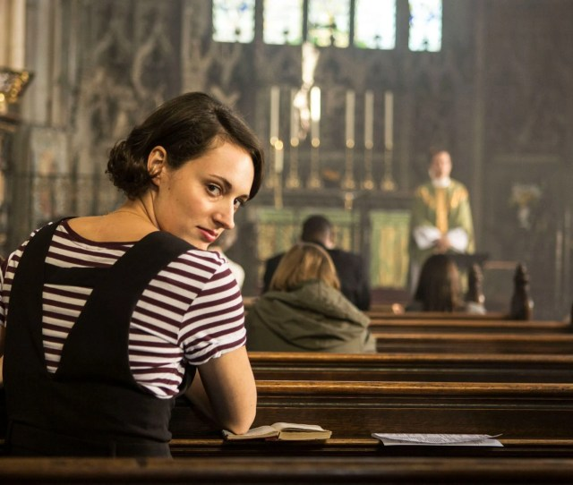 Image May Contain Fleabag Hidden Meanings Fleabag Female Worship Indoors