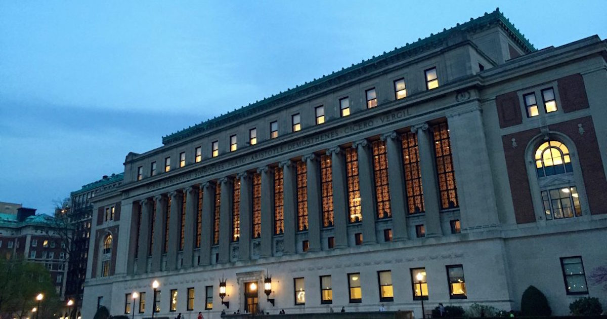 The Wall Street Journal ranked Columbia the number one Ivy school
