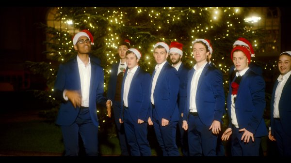 Oxford acapella group39s 39Santa Baby39 single is here to