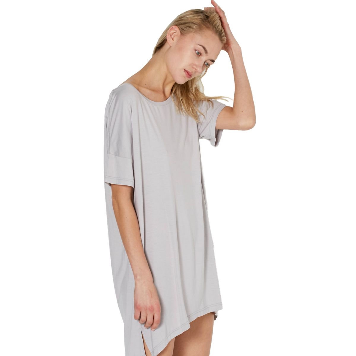Recliner Womens Bamboo NightTee Sleep Dress  TheTot