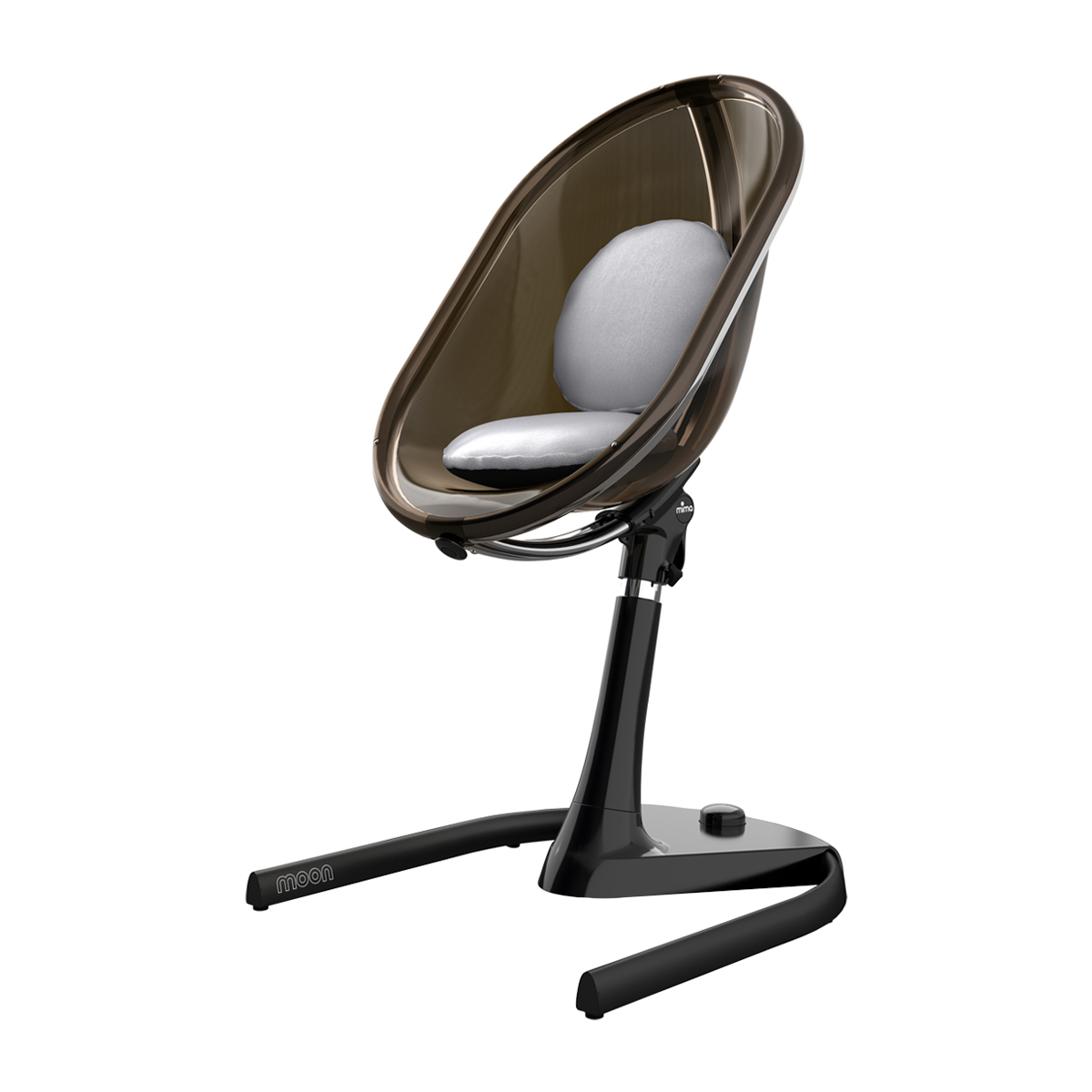 Mima Moon 2G 3in1 High Chair  All Black  TheTot